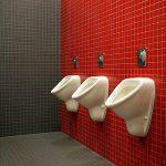 Voorkom opstoppingen in de badkamer met een urinoir